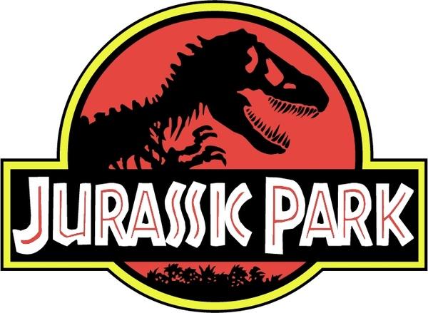 Logo clipart jurassic park (7 vector) Jurassic vector 0