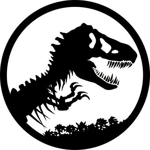 Logo clipart jurassic world Sugar Icing Park Topper Dinosaur