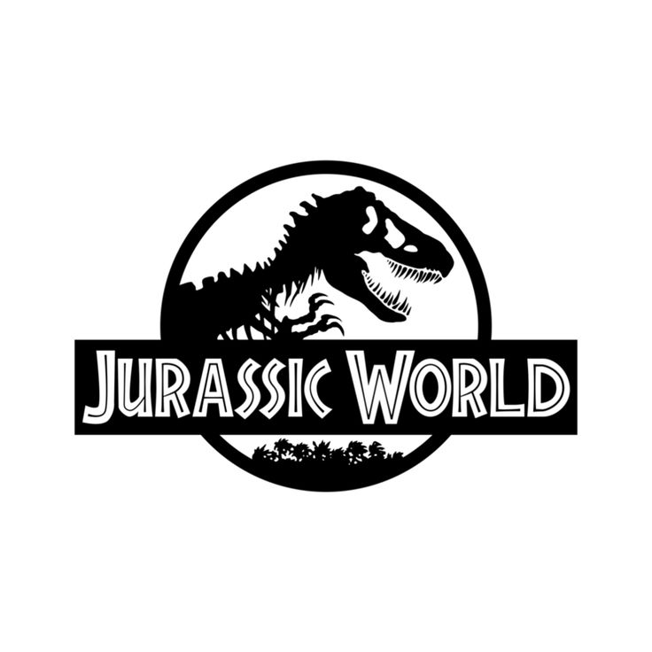 Logo clipart jurassic world World movie on coloring and