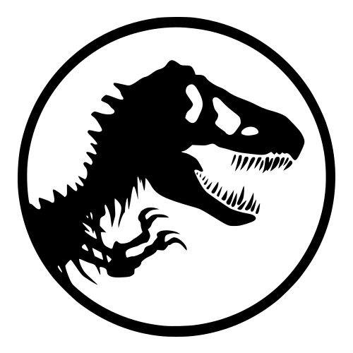 Logo clipart jurassic world T World Jurassic  Rex