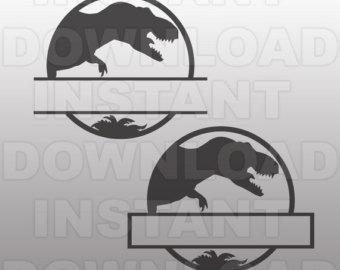 Logo clipart jurassic world Vector Art File Commercial Dinosaur