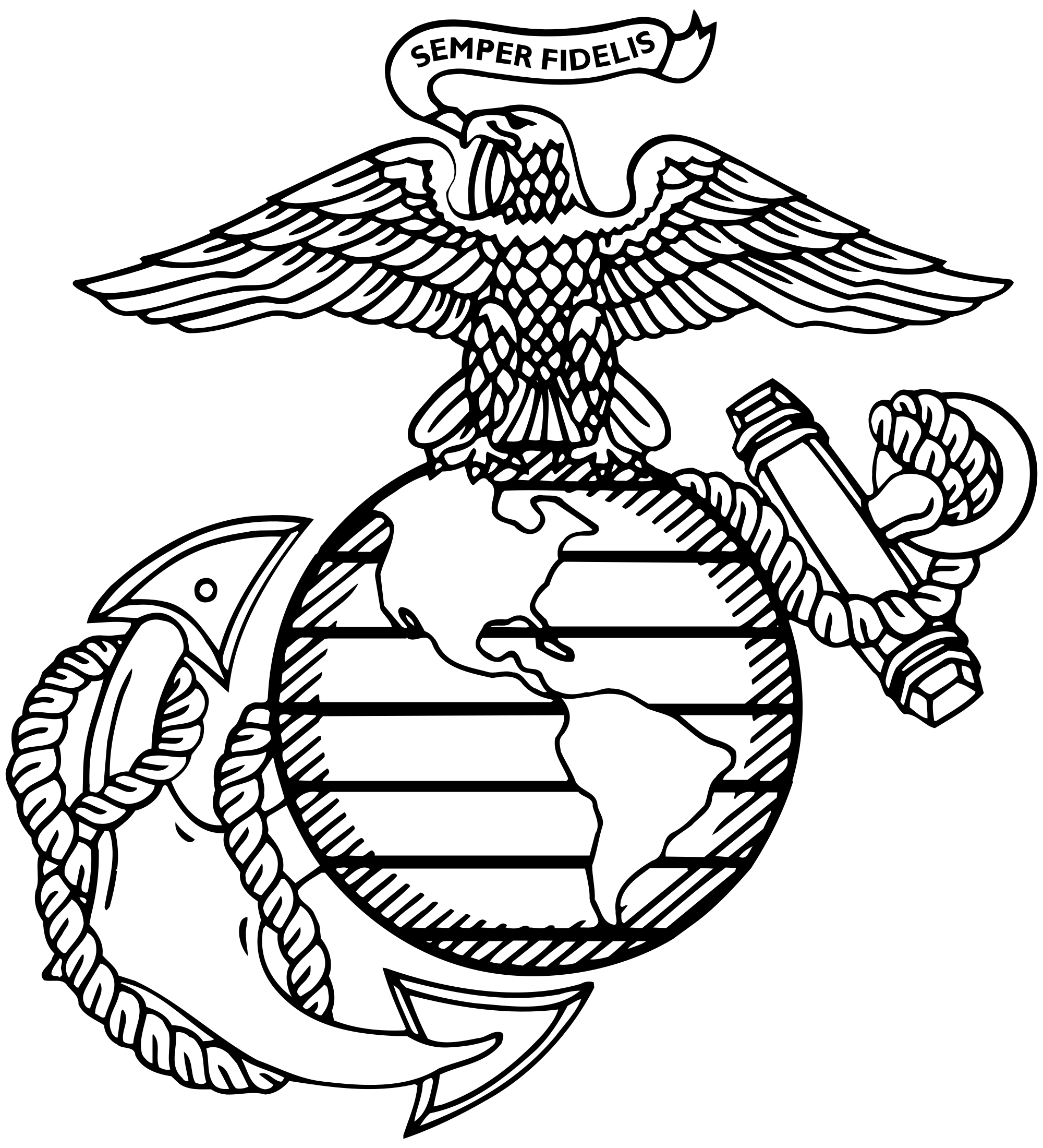 Marine clipart insignia Corps Tattoos looks on this