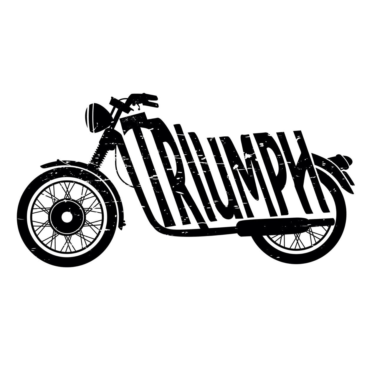 Logo clipart motorcycle Des Bike PARIS de