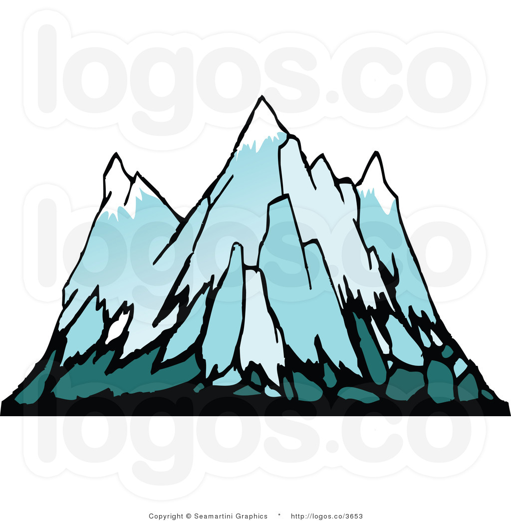 Geography clipart snowy mountain Clipart Mountain Panda Clipart Art