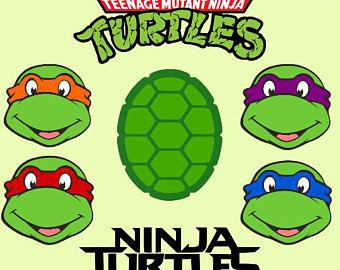 Logo clipart ninja turtle Clipart turtles Ninja Ninja logo