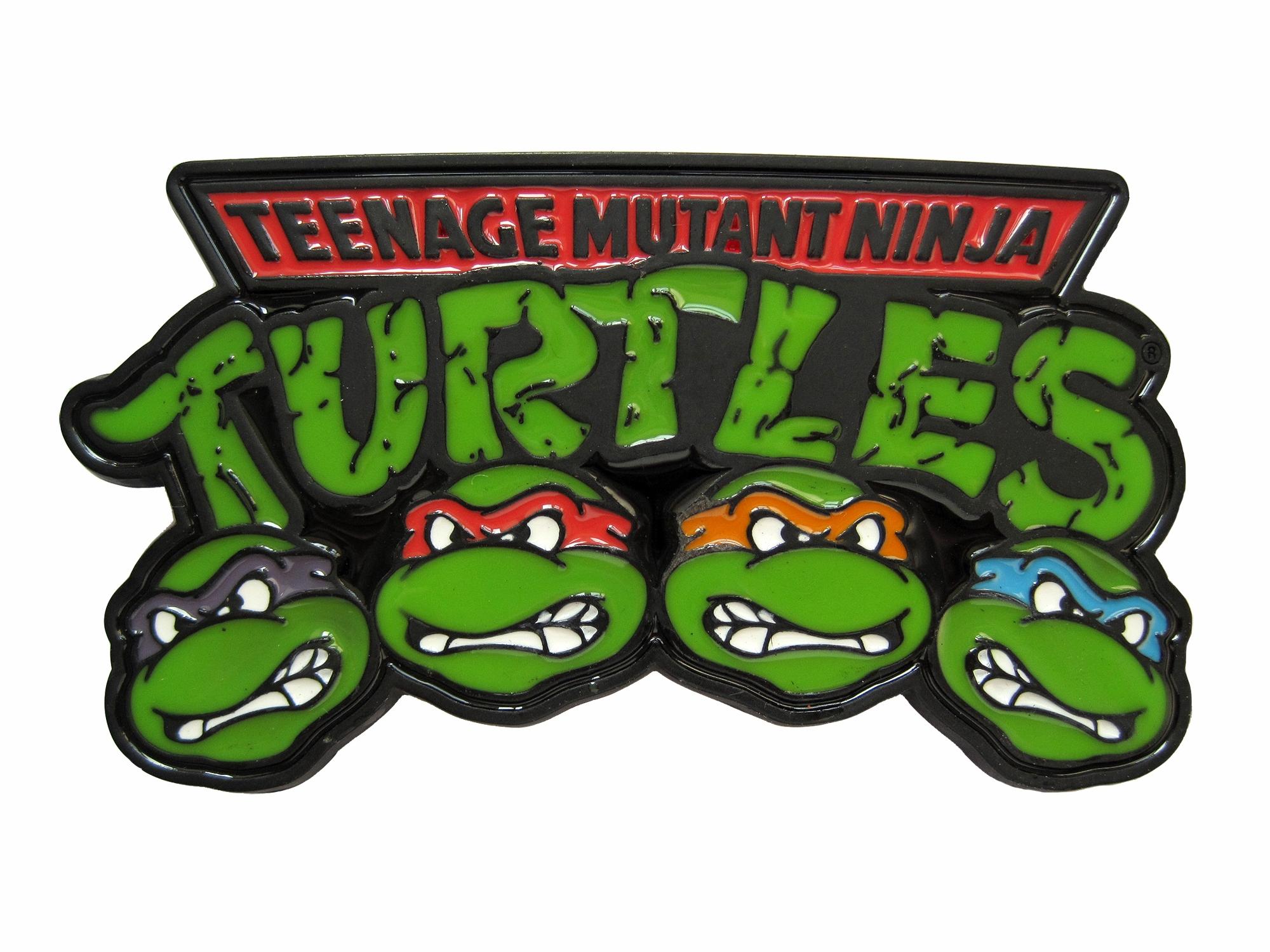Logo clipart ninja turtle Power Teenage Buckle Logo Mutant