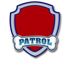 Logo clipart paw patrol Template paw Patrulla Patrol)