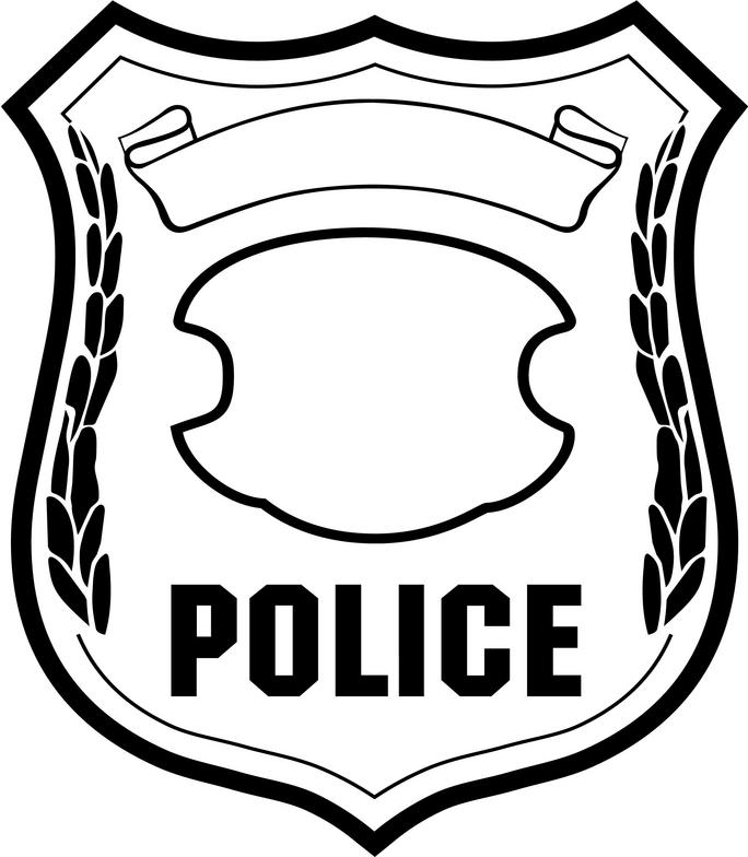 Logo clipart police badge Clip Art Free Art Badge