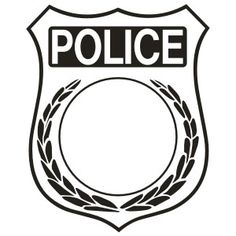 Logo clipart police badge Badge templates: Police Badges Clip