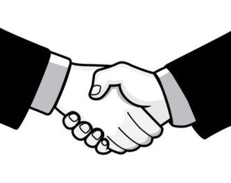 Logo clipart shake hand #13092 Shaking Hands Hands Clipart