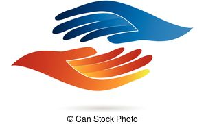 Logo clipart shake hand Business concept Illustrations  images