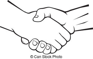 Logo clipart shake hand And clipart Clipart hands Free