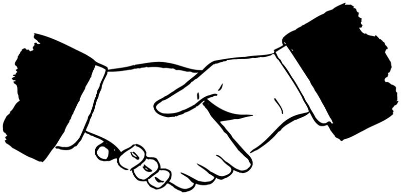 Logo clipart shake hand Hands Shake hand Collection 02