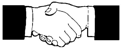 Logo clipart shake hand Handshake Clipart information pngT More