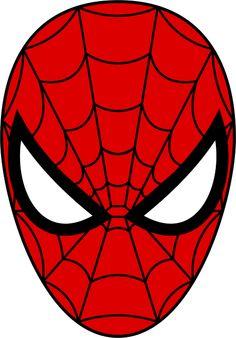 Spiderman clipart emblem Spiderman of head Mask man