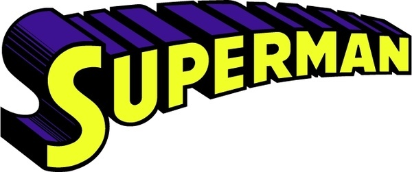 Logo clipart superman Download for commercial  vector