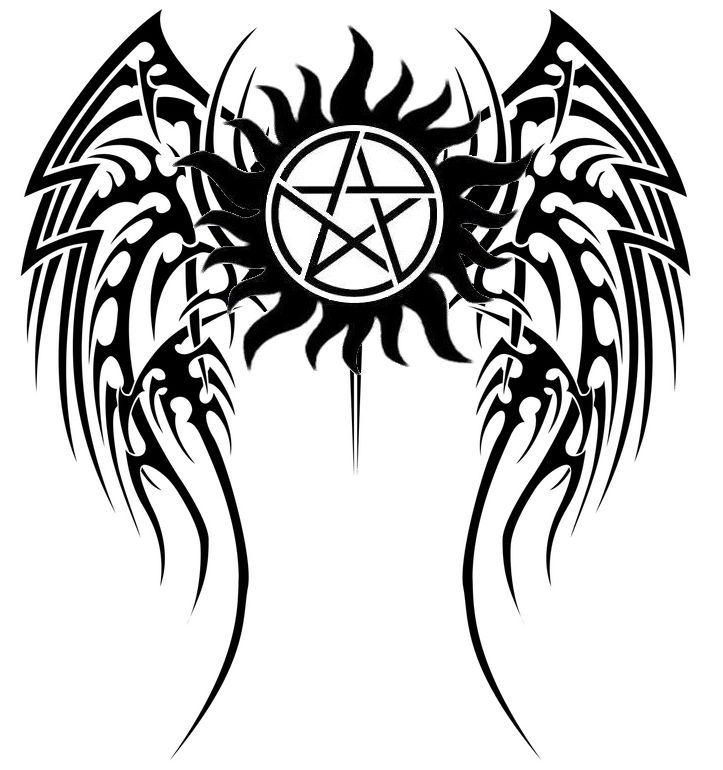 Pentagram clipart goat Anti ideas possession supernatural on