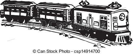 Logo clipart train Vector Old steam Vector steam
