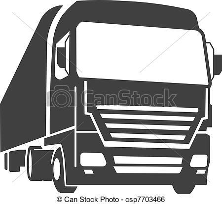 Logo clipart truck Commercial csp7703466 truck Clipart truck
