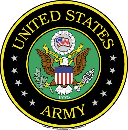 Soldiers clipart military emblem Clip clipart & Army Us