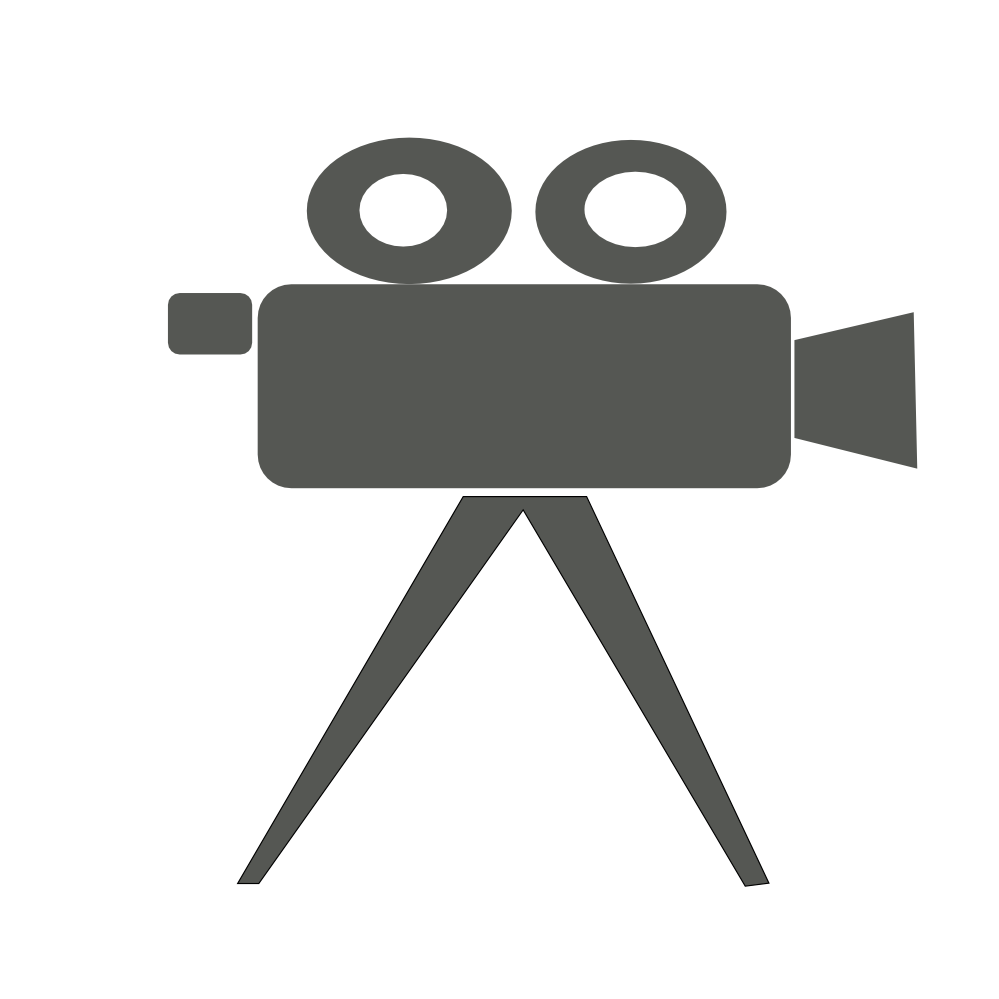Logo clipart video camera  Clip Free Art yourfirstsmartphone