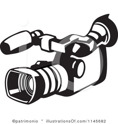 Photos clipart video camera #1