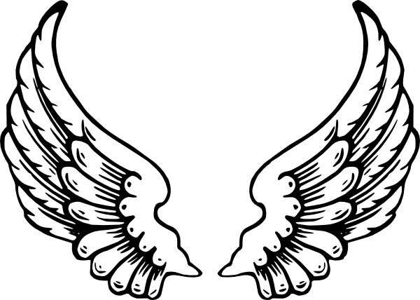 Logo clipart wing Art  as: Download Clker