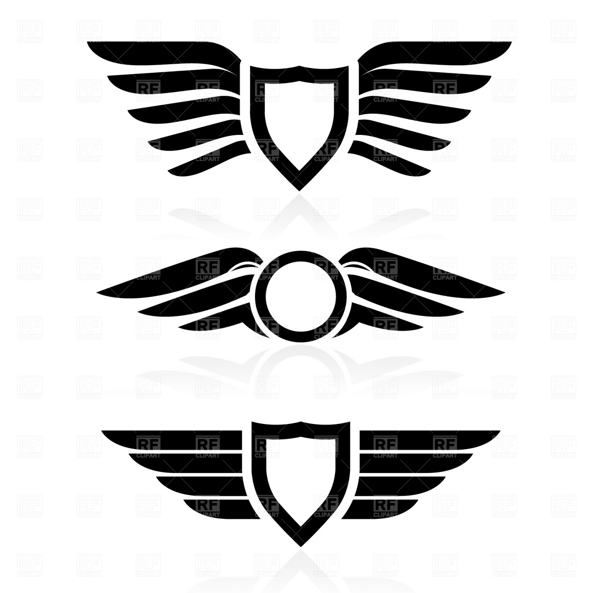 Logo clipart wing Clipartwork Wings Wings Wings Use