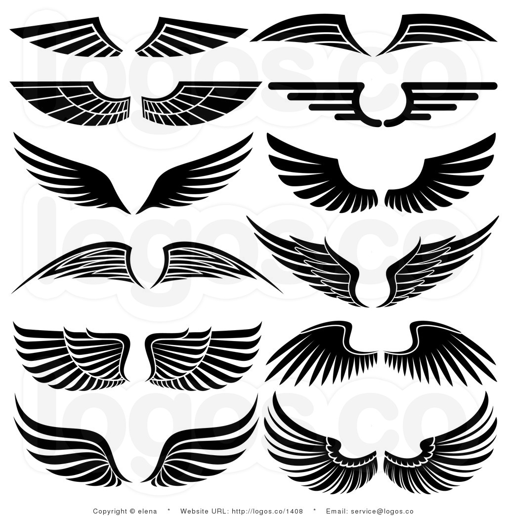 Logo clipart wing Angel arts Wings Wings