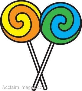 Lollipop clipart Lollipop Clipart striped 2 image