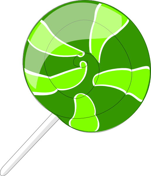 Lollipop clipart animated Com  Green this Download
