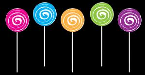 Candy clipart lollipop Clipart Lollipop Lollipop Clip Border