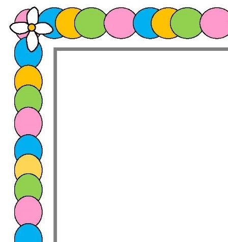 Lollipop clipart border  Art Lollipop Border Clip