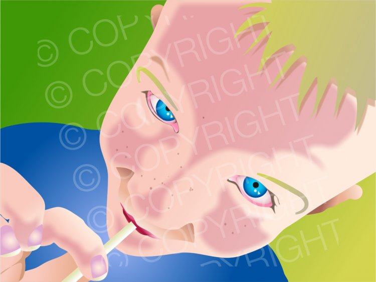 Lollipop clipart boy Art Lollipop  Cute People