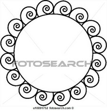 Lollipop clipart circle Images Lollipop iron contemporary acborder