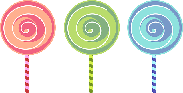 Candy clipart lollipop Of Free Three to Free