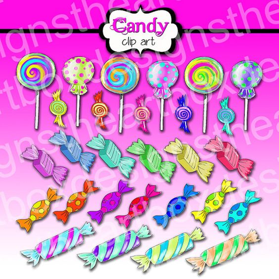 Lollipop clipart boy Art Clipart Digital lollipop Clipart
