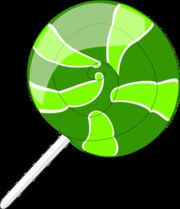 Lollipop clipart lollypop At Green clip Clker com
