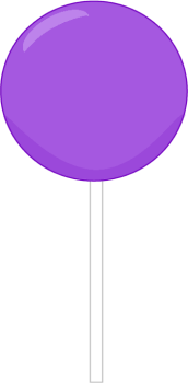 Lollipop clipart purple Lollipop art Purple Lollipop Art