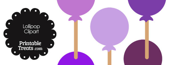Lollipop clipart purple In Shades Lollipop com —
