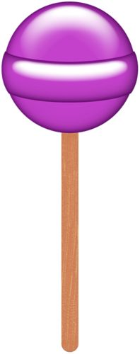 Lollipop clipart purple Candy LOLLIPOP Pinterest 33 best