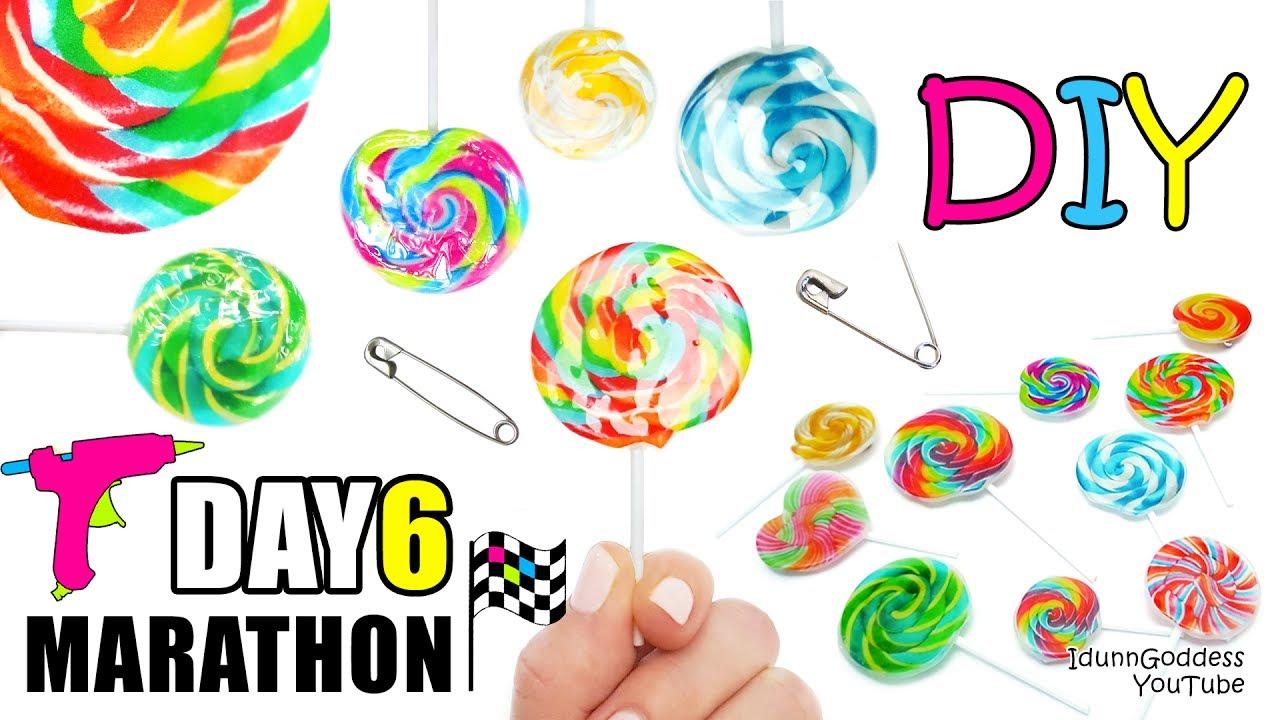 Lollipop clipart seven Glue 7 of Glue Marathon