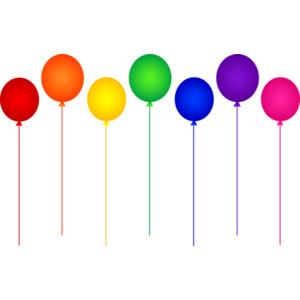 Lollipop clipart seven Rainbow 7 Free Art Birthday