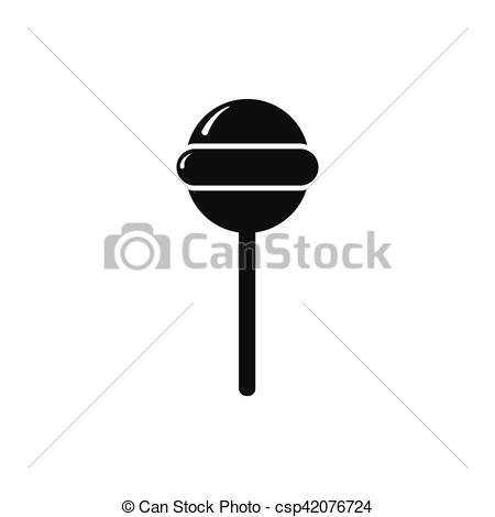 Lollipop clipart simple Vector lollipop simple style style