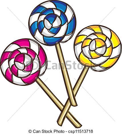 Lollipop clipart simple Lollipop royalty  Illustrations free