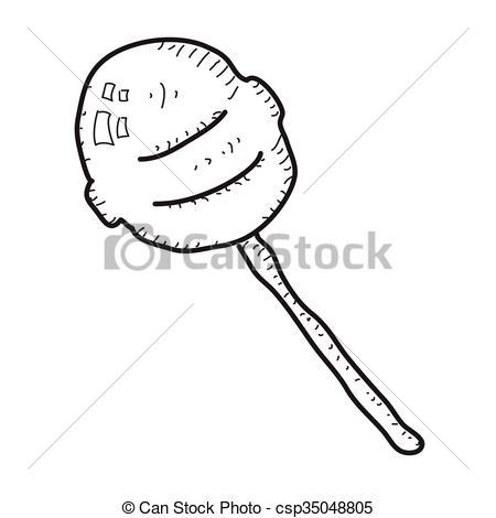 Lollipop clipart simple Doodle hand of lollipop lollipop