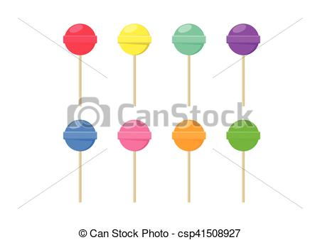 Lollipop clipart boy Candy set csp41508927 food Lollipop