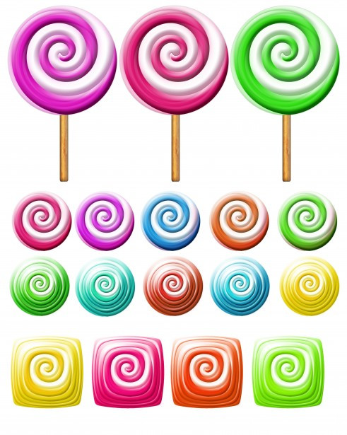 Lollipop clipart swirly Icons Stock Lollipops Icons Lollipops
