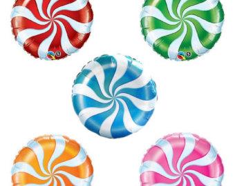 """Lollipop clipart swirly Lollipops your Balloons 18"""" Swirl"""