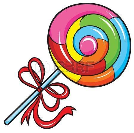 Lollipop clipart swirly Art And Lollipop Stock Clip